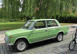 Restored Russian built Lada Niva.