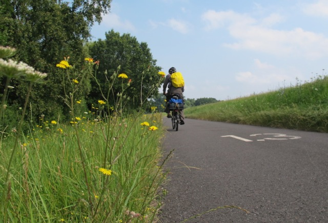 Early stages of the bike path to Frankfurt (Oder).