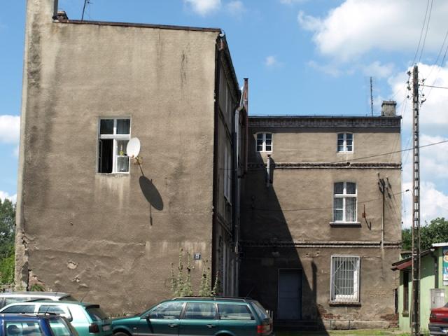 In Gubin, a communist-grey building.