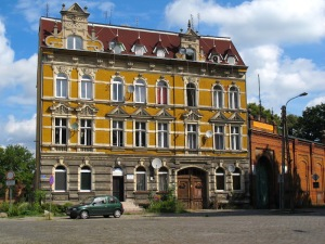 A Gubin mansion. I don't know what such a building is called in Poland but for the want of a better name I have called it a mansion.