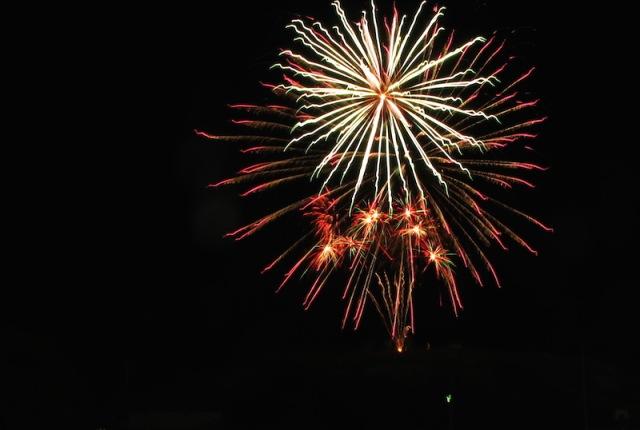 A recent fireworks image by Bev.