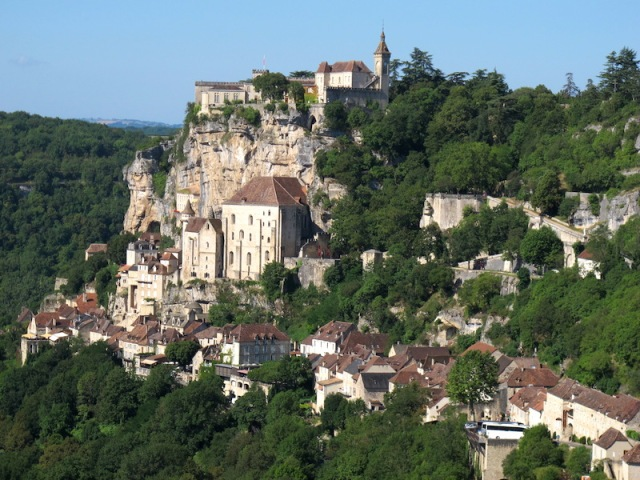 Monastic buildings of Rocamadour.