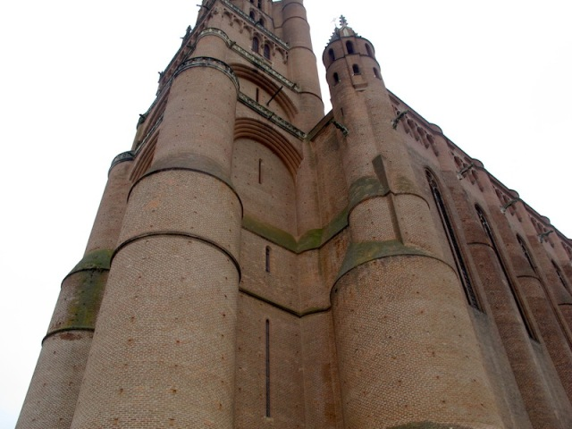 The Cathedral of St Cecilia, Albi. Two hundred years in the making, hard to comprehend.