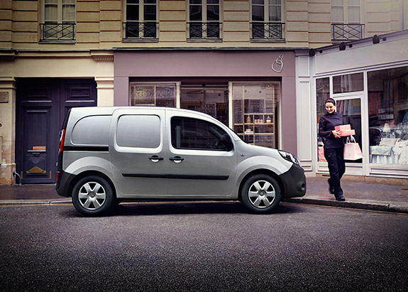 Renault Kangoo van, an ideal camper van.