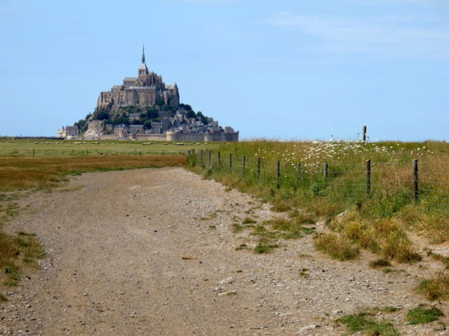 Another rural scene and Mont St Michel.