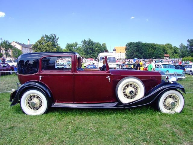 Royce Sedance de Ville 1934. image by ChiemseeMan in public domain
