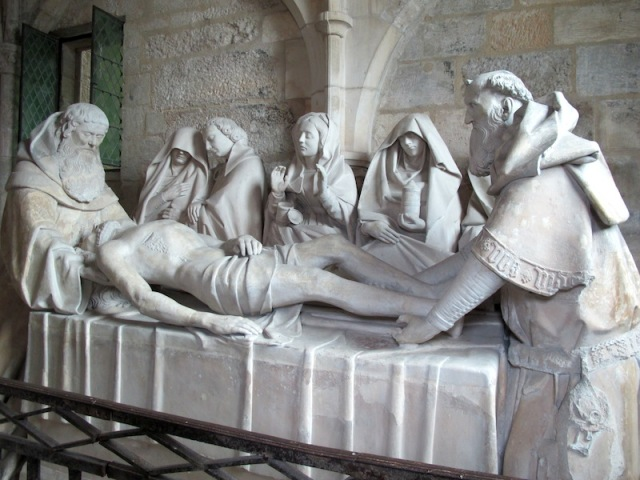 The Entombment of Christ. The magnificence is in the detail.