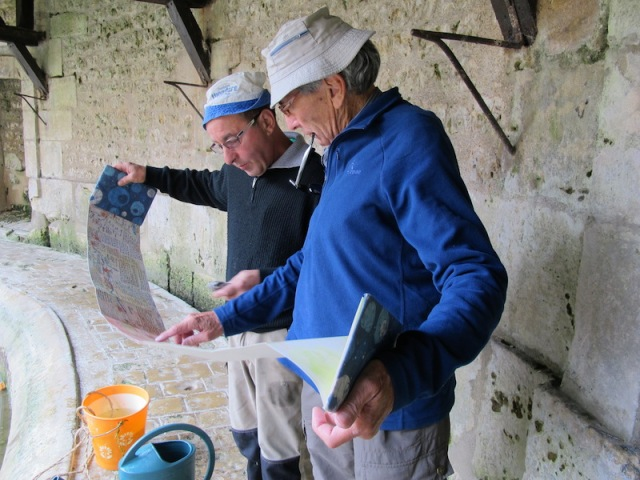 Yves showed more than a passing interest in my writings and because he was so interested I recorded our visit to the lavoir on the spot.