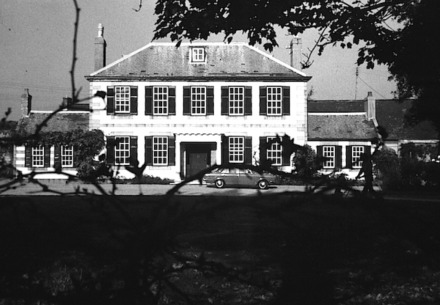 The Georgian mansion where we stayed on Jersey. Photo taken in 1972.
