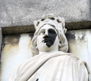 Detail of one of the Glyptotek ladies.