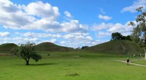 Gamla Uppsala burial mounds.