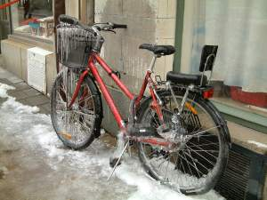88 Iced up bike