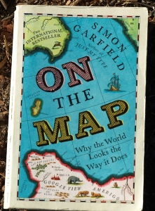 Front cover of Simon Garfield's informative and entertaining book, On the Map.