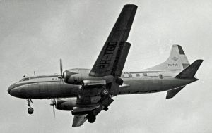 A Convair, the type of aircraft I first took to the air in.  Image credit:  Author Ruth AS via Wikipedia.