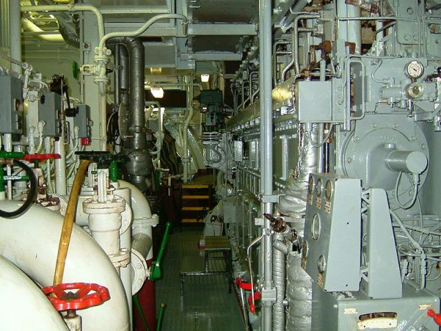 24 Engine room