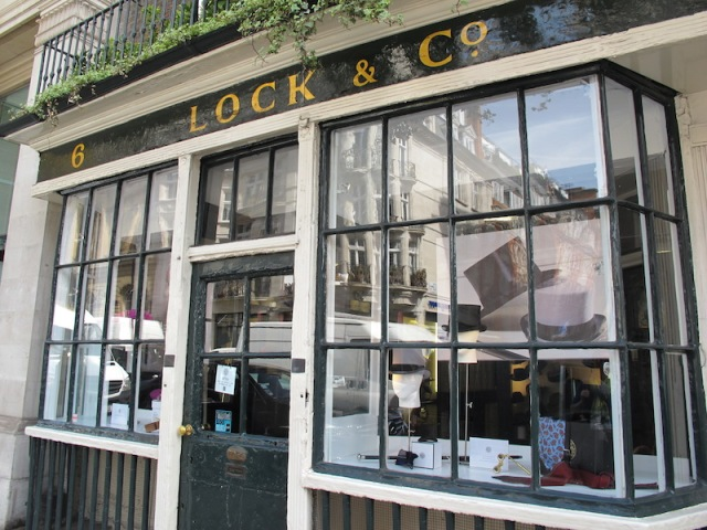 Lock and Co established 1676.
