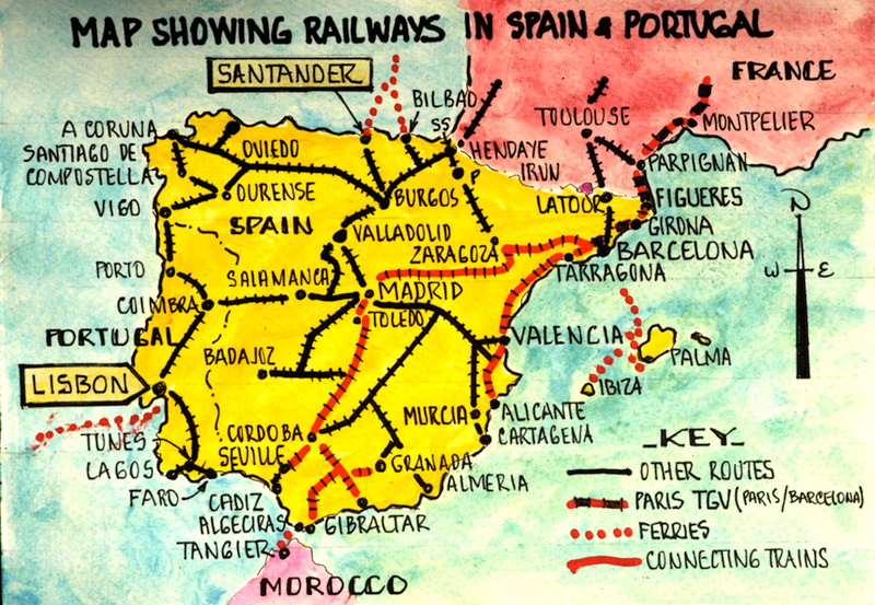 guide to travelling europe by train