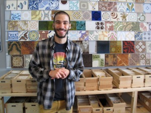 Joachim was only too happy to answer my questions relating to Portugal's tile history.