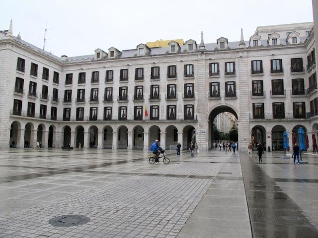 Plaza Porticada.