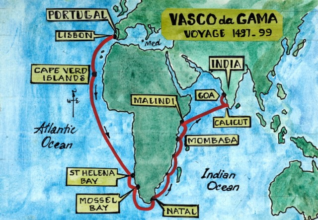 Vasco da Gama's voyage that changed Portugal's fortunes.