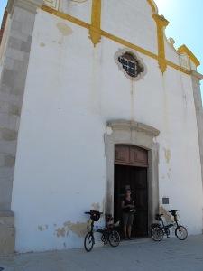 San Sebastian church.