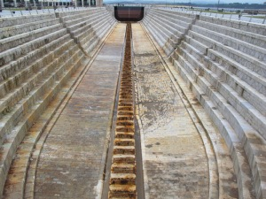 Dry dock Santander.