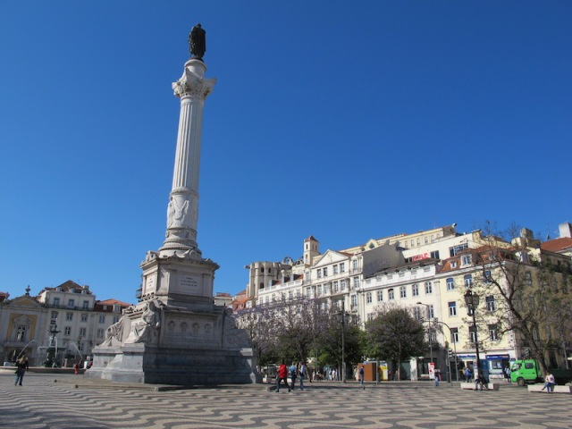 Dom Pedro IV Square.