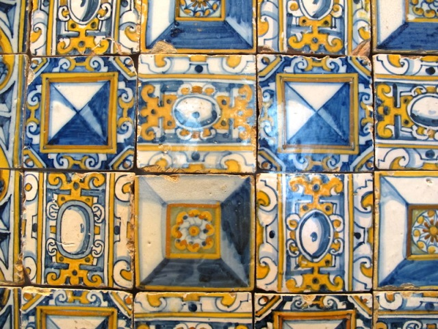 28 old tiles