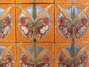 29 bas relief tiles
