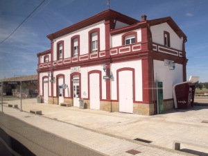 The quaint Formista railway station along the route today.