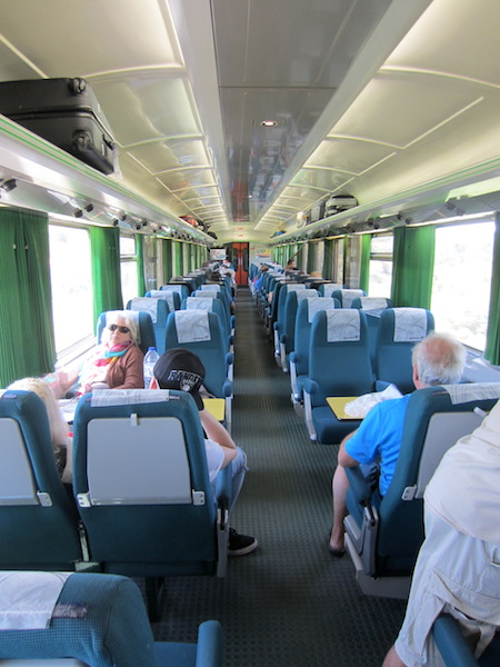 Intercity train to Faro.