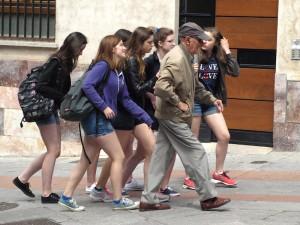 'Walking with Determination'.