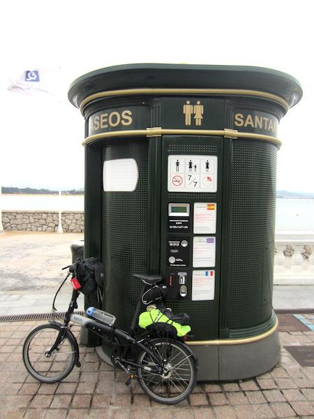 A smart city toilet.