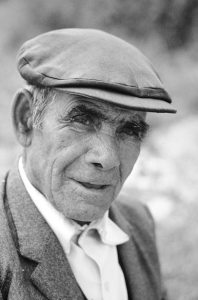 A portrait of a Spanish farmer taken by me in 1973. Note the fly in the corner of his right eye. The photographic urge to record what I see has never left me.
