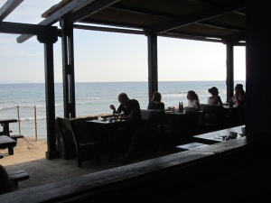 The beach bar today.