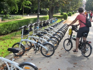 The discovery: foldup bikes.