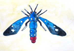 Polka-dot wasp moth.