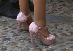 Pretty but ridiculous footwear.