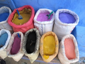 These dyes are associated with the art of body decoration called henna tattooing.