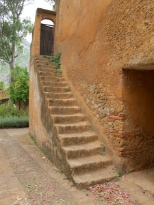 Well worn steps in the Kasbah.