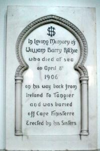 An interesting wall plaque.
