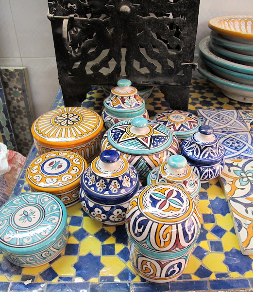 Beautifully decorated utility ware.