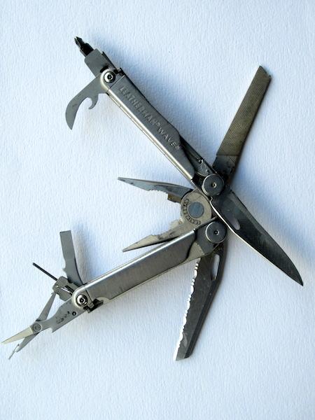 Leatherman tools.