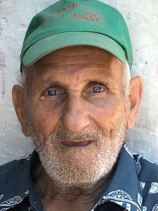 Zemanali, the retired merchant seaman now carpenter.