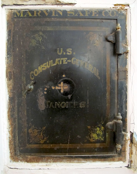 A unique piece of history, the legation safe. Imagine the sensitive and top-secret documents that would have been stored over the years.