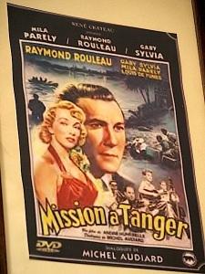 Film poster Tangier.