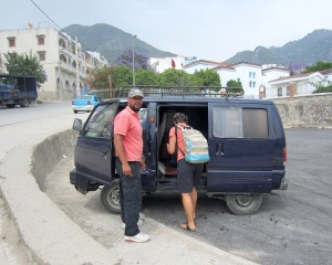 The Chefchaouen taxi service.