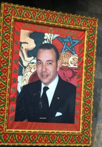 The king of Morocco.