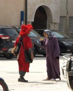 A Berber water seller.