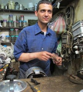 Lazrak the pressure cooker repairman.